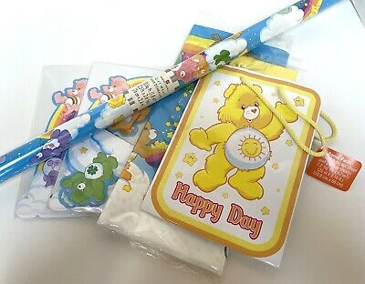 £36.19 • Buy Vintage Care Bears Party Set Gift Warp, Bag, Tablecloth & Centerpiece
