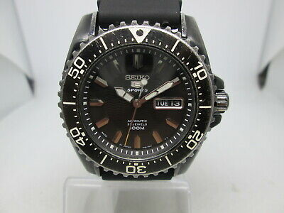 $ CDN22.03 • Buy Seiko 5sports(snzg41)7s36-03m0 Pvd/stainless Steel Automatic Mens Diver Watch