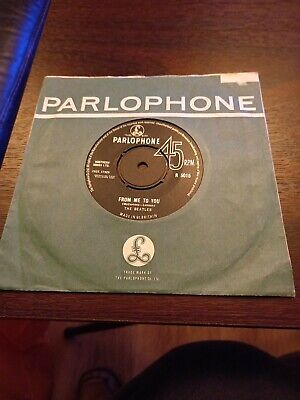 £10 • Buy The Beatles From Me To You 1963  Classic 45 In Original Sleeve