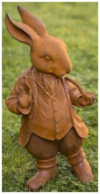 £99.99 • Buy Large Mr Rabbit Garden Ornament From The Wind In The Willows - Cold Cast Iron