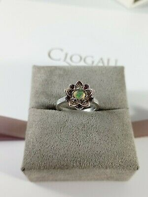 £75 • Buy Clogau Welsh Gold And Silver Lotus Ring With Opal And Topaz - Boxed, Warranty...