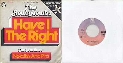 £5.14 • Buy The Honeycombs -Have I The Right / The Searchers -Needles & Pins 7  Si. In Mint-