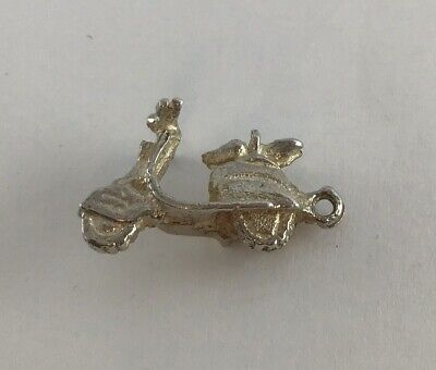 £6.49 • Buy B6 Vintage Sterling Silver Charm Of A Motor Scooter, One Of Many Listed