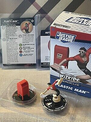 £61.78 • Buy Heroclix Justice League Plastic Man #DP20-002 + Nifty Mailbox - New & IN HAND!