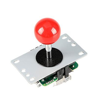 $11.95 • Buy Red Ball Top Arcade Joystick 8 Way Competition For MAME Cabinet 1up Game Parts