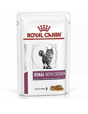 £13.99 • Buy Royal Canin Renal Cat Food Chicken Gravy X12 85g Pouches FREE POSTAGE