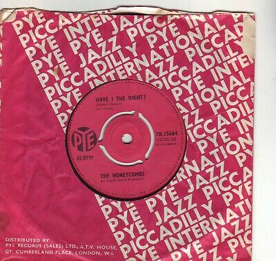 £7 • Buy The Honeycombs  Have I The Right 1964