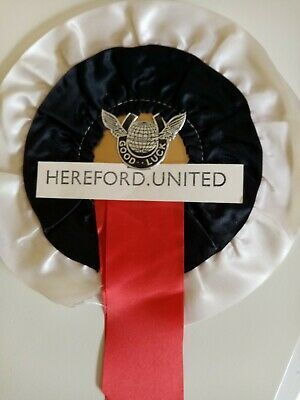£5.99 • Buy Hereford United Fc Football Team Rosette 1960's Mint Condition