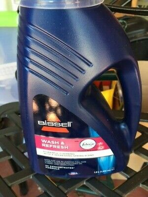 £9.50 • Buy Collect Northwich - Lge BISSELL Wash And Refresh Carpet Shampoo Cleaner Protect