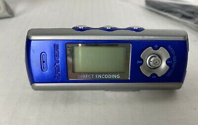 £21.82 • Buy IRiver IFP-780 128MB MP3 Player With Direct Encoding Blue