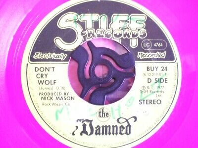 £3.49 • Buy Punk - The Damned - Don't Cry Wolf - Pink Vinyl