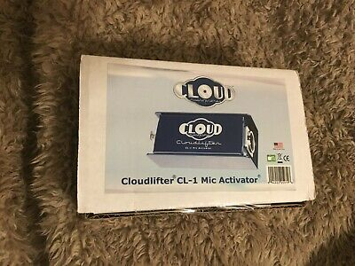 £108.93 • Buy Cloud Microphones Cloudlifter CL-1 Activator Microphone Preamp