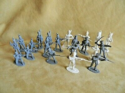 £1.99 • Buy Napoleonic Toy Soldiers X21 - Vintage 1/32 Plastic Airfix & Timpo Unpainted