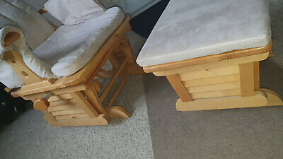 £50 • Buy Rocking Chair / Nursing Maternity Chair And Glider Stool .