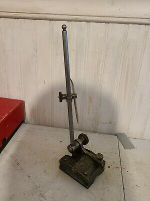 $125 • Buy LARGE STARRETT Gage Surface Stand Machinist Tool