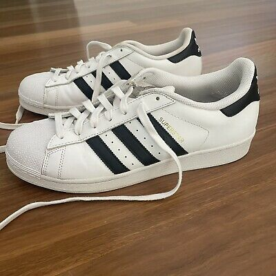AU45 • Buy Adidas Stan Smith White Shoes Sneakers Trainers Men Sz US 10 Lace Up