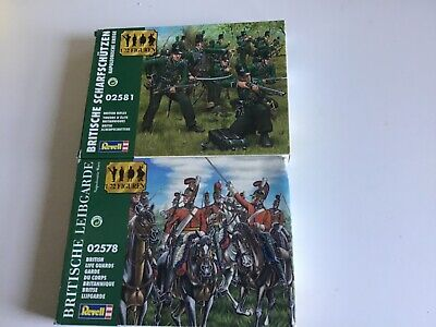 £13.50 • Buy Revell 1/72 Scale Plastic Toy Soldiers Napoleonic British Life Guards & Rifles