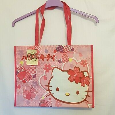 £8.50 • Buy New With Tag, Rare Hello Kitty Pink Shopper Bag Japanese Design #2 Shoulder Tote