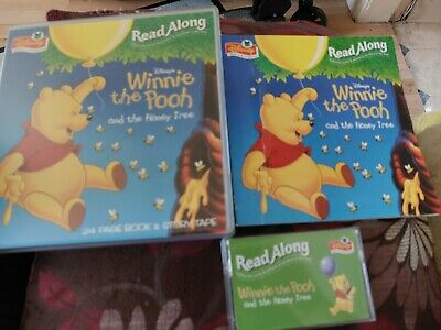 £8.99 • Buy Disney Read Along Winnie The Pooh And The Honey Tree 24 Page Book And Story Tape