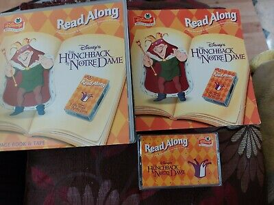 £7.99 • Buy Disney Read Along The Hunchback Of Notre Dame 24 Page Book & Cassette Tape.
