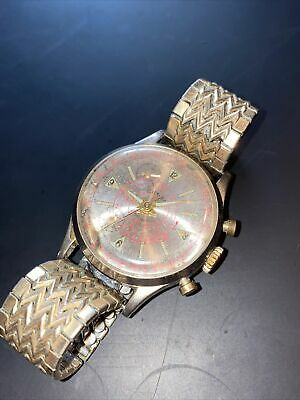 $ CDN12.58 • Buy Vintage CIMIER Sport Chronograph Watch Swiss 1 Jewel For PARTS Or Repair-NO RUN