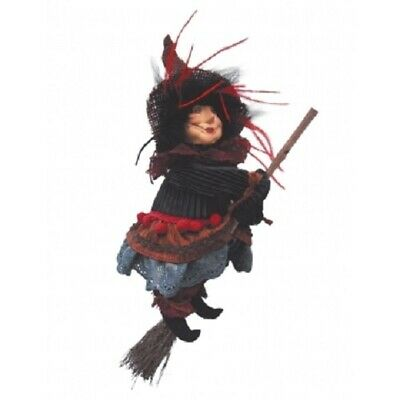 £23.50 • Buy Witches Of Pendle *ann Redfearn  Brown Flying Witch 24cm Info Book Pagan/ Occult