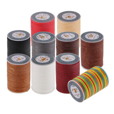 £3.57 • Buy 1 Pcs Waxed Thread Cord Leather Canvas Craft Sewing Tools For