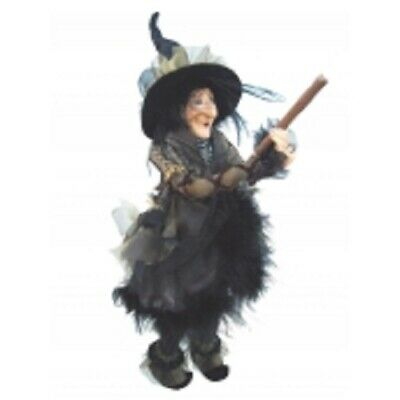 £33.50 • Buy Witches Of Pendle *chattox  Gold Flying Witch 45 Cms  Info Book Pagan/witch