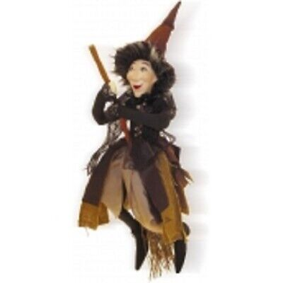 £19.95 • Buy Witches Of Pendle *rebecca  Brown Flying Witch 32 Cms Info Book Pagan/ Occult