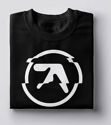 £11.99 • Buy Aphex Twin Glitched Logo T Shirt Techno Dance Music Electronica Ambient - White