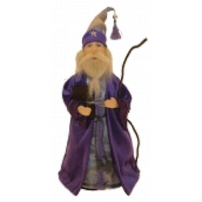 £18.95 • Buy Witches Of Pendle *oswald The Wizard  Purple 24 Cms Info Book Pagan/ Occult