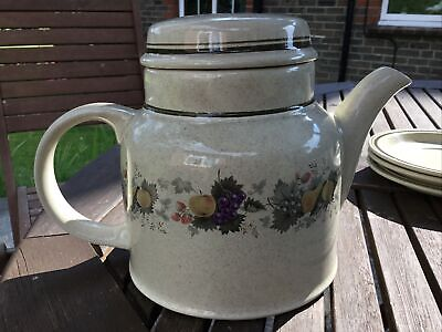 £9.99 • Buy Royal Doulton Harvest Garland Large Teapot With Lid Vgc