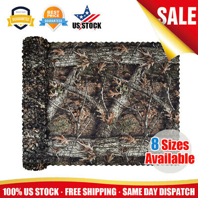 $13.95 • Buy US Military Camouflage Camo Netting Hunting Camping Army Net Woodland Tree Cover