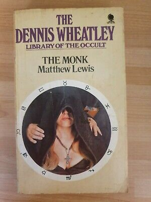 £10.99 • Buy The Dennis Wheatley Library Of The Occult The Monk Matthew Lewis