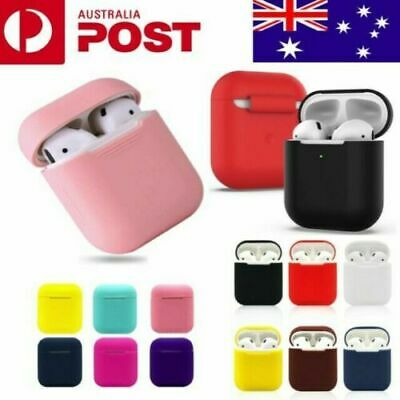 AU4.69 • Buy Apple AirPods Silicone Gel Case Shockproof Protective Skin Cover AirPods 1&2