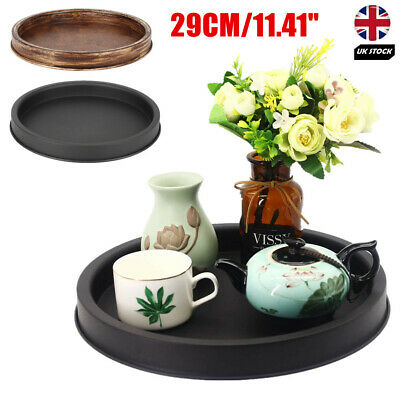 £16.99 • Buy 11.4  Metal Candle Holder Tray Tealight Jewelry Perfume For Home Kitchen Decor