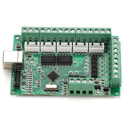$42.35 • Buy MACH3 USB Interface CNC Motion Control Card Breakout Board Controller With