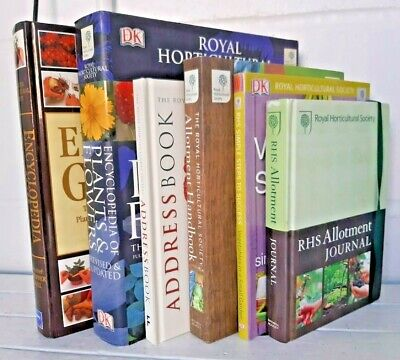 £6.50 • Buy Collection RHS Gardening Books Vegetables Allotment Plants & Flowers KY339