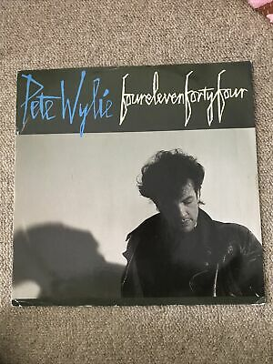 £2 • Buy Pete Wylie Four Eleven Forty Four Vinyl Record