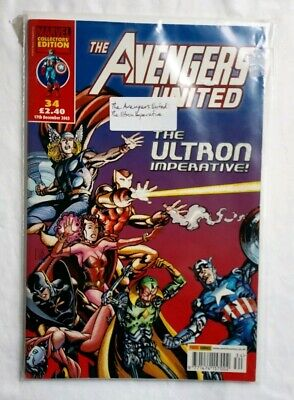 £6.99 • Buy Avengers United The Ultron Imperative December 2003 Issue 34 Marvel Comics