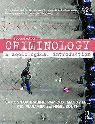 £4.25 • Buy Criminology: A Sociological Introduction By Pam Cox, Maggy Lee, Ken Plummer,...