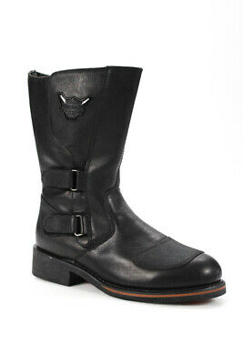 $ CDN35.32 • Buy Harley Davidson Mens Leather Motorcycle Riding Boots Black Size 11.5 LL19LL