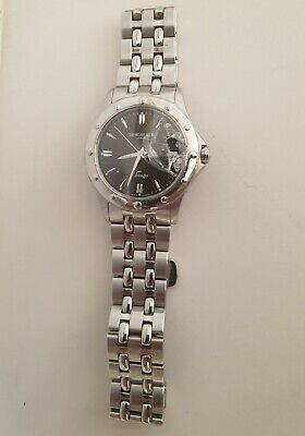 £33 • Buy Raymond Weil Tango Stainless Steel Mens Watch 5590-V301757 SPARES OR REPAIR