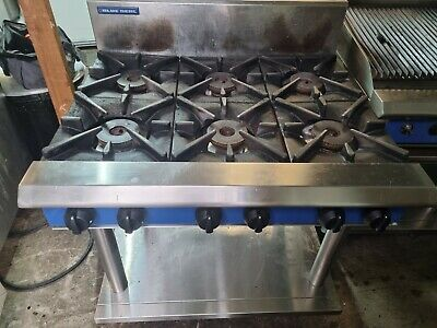 £800 • Buy Blue Seal 6 Burner Cooker NAT Gas Heavy Duty Commercial Catering