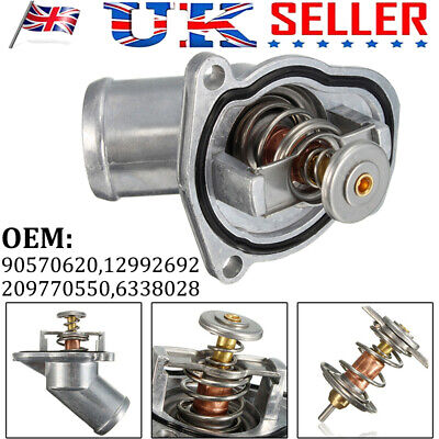 £11.59 • Buy New Engine Thermostat Coolant Kit For Vauxhall Astra H Corsavan Combo Corsa B C