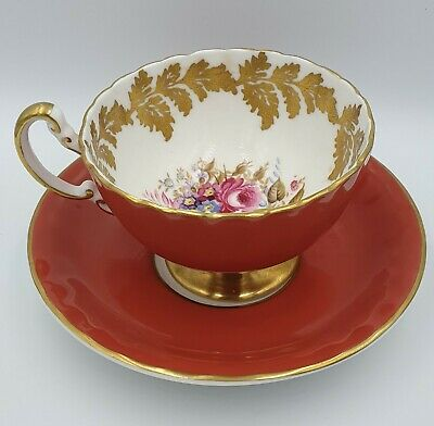 £10.50 • Buy AYNSLEY Floral Spray Teacup And Saucer Pattern 2960