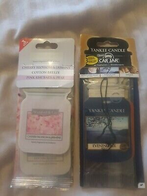 £1.50 • Buy Selection Car Air Freshners Including Yankee Candle