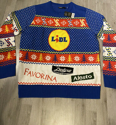 $20.80 • Buy Lidl Christmas Jumper Limited Edition 2020 Size L BNWT