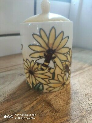 £18.99 • Buy Old Tupton Ware Honey Pot Jeanne McDougall Never Used Yellow Bees Vintage Retro