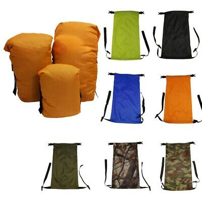 £5.59 • Buy Waterproof Compression Stuff Sack Outdoor Camping Storage Bag Sleeping Bag Pouch
